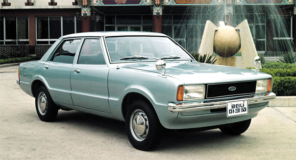 Hyundai Ford Cortina
