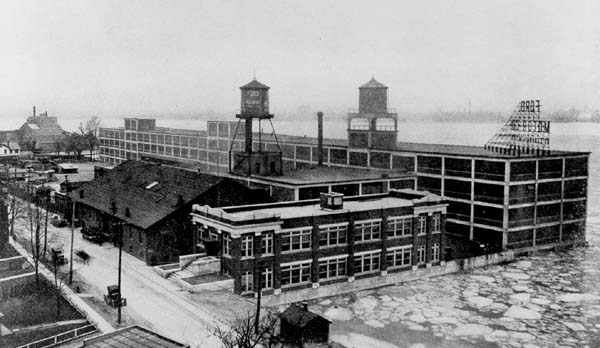 Ford Werk in Windsor 1913